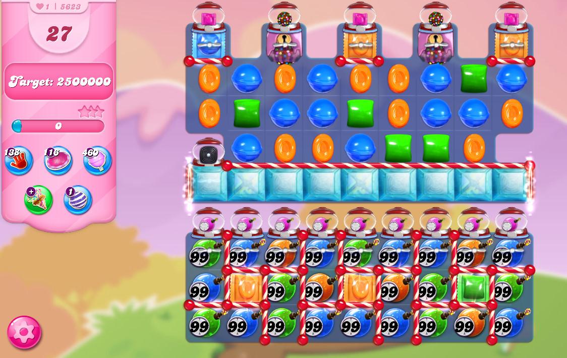 Candy Crush Saga level 5623
