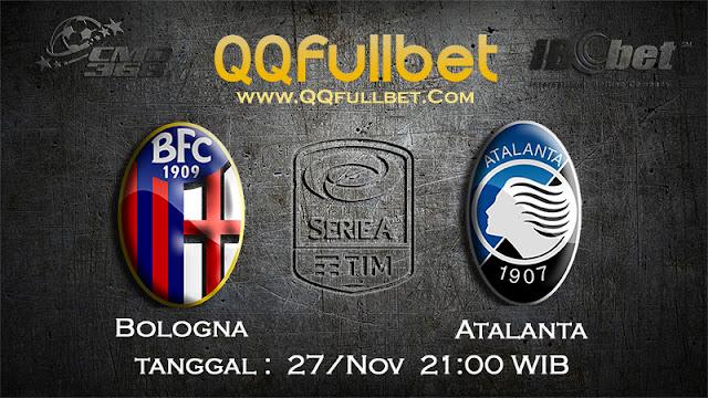 PREDIKSIBOLA - Prediksi Taruhan Bola Bologna vs Atalanta 27 November 2016 (UEFA Europa League)