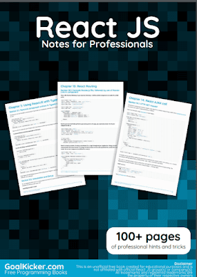 react js pdf book notes download for free