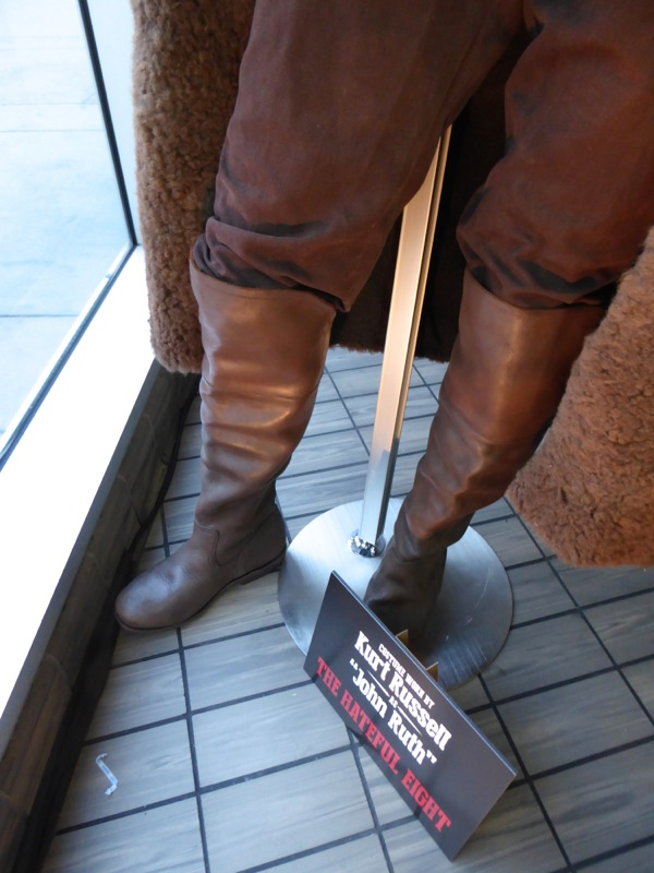 Hateful Eight John costume boots