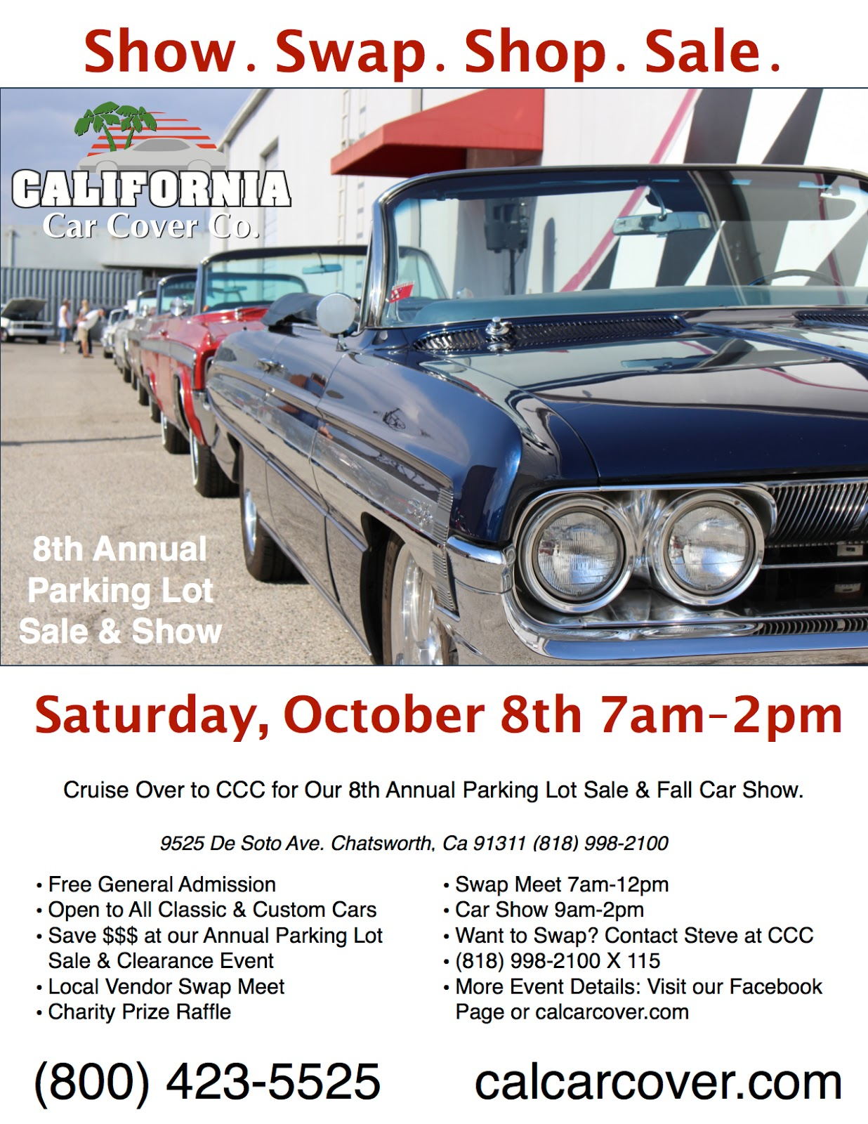 Covering Classic Cars : 8th Annual California Car Cover Parking Lot ...
