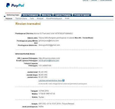 Toluna Paid Survey Terbukti Membayar Membernya,Yuk Ikut Gabung!