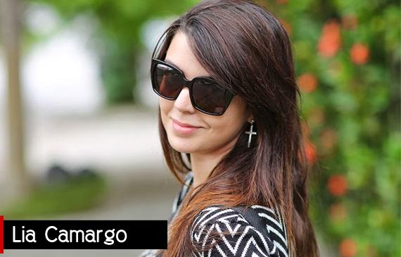 Lia Camargo - Autora do Blog Just Lia