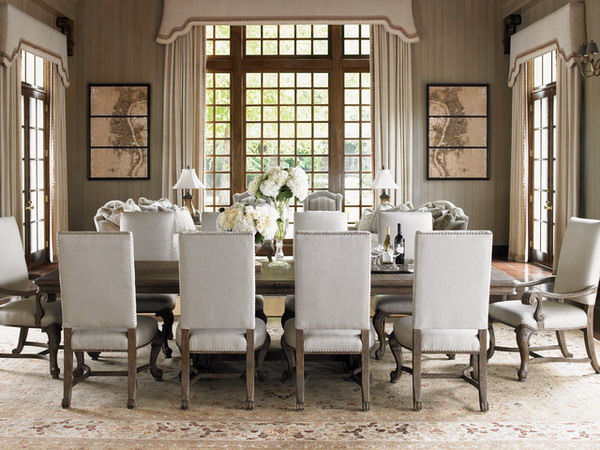 Perfect and Formal Dining Room Sets Perfect and Formal Dining Room Sets best formal dining room chairs with formal dining room furniture sets perfect white color royal themed vintage eight chairs long table beautiful flowers on the table make more chic