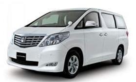 Rental Mobil Toyota Alphard di Bali