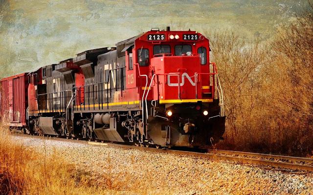 railway train wallpaper