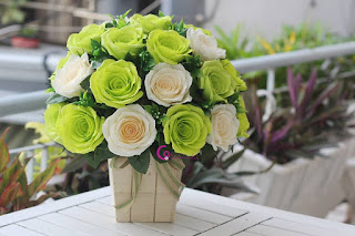 hoa giấy handmade 8-3
