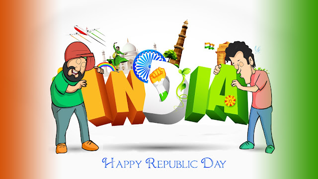 Happy Republic Day Wishes - 50 Latest Republic day 2018 Wishes