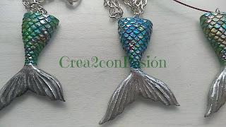 DIY-colgantes-cola-de-sirena-pasta-flexible-verde-azul-nacarada-crea2-con-pasion