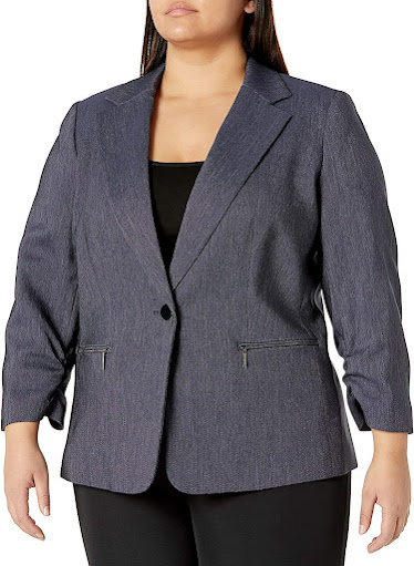 Good Quality Trendy Plus Size Blazers For Women