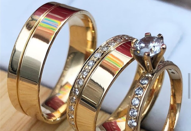 Cincin pernikahan + cincin kawin