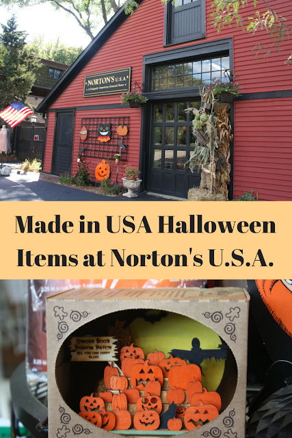 Made in USA Halloween items at Norton's USA