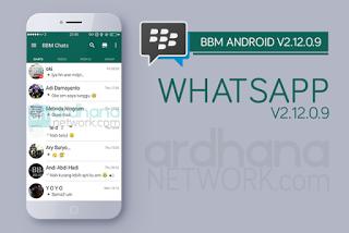 Tema BBM seperti WA - BBM Mod Whatsapp 2.12.0.9 Apk