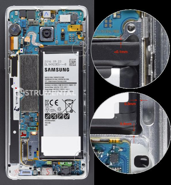 سبب إنفجار 7 Galaxy Note