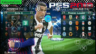 Cara Download PES 2019 PPSSPP Lite ENGLISH NEW FITUR Offline di Android Terbaru