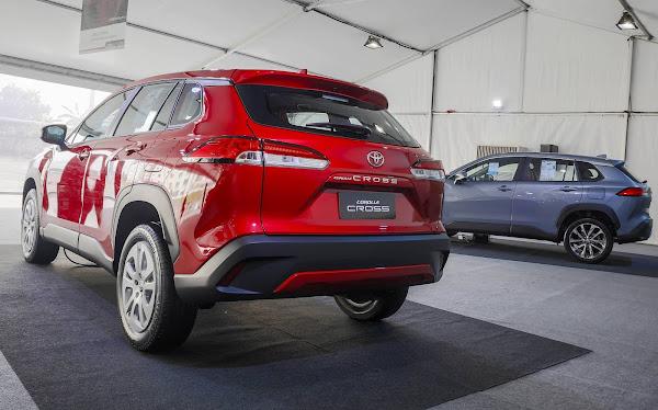 Novo Toyota Corolla Cross 2022