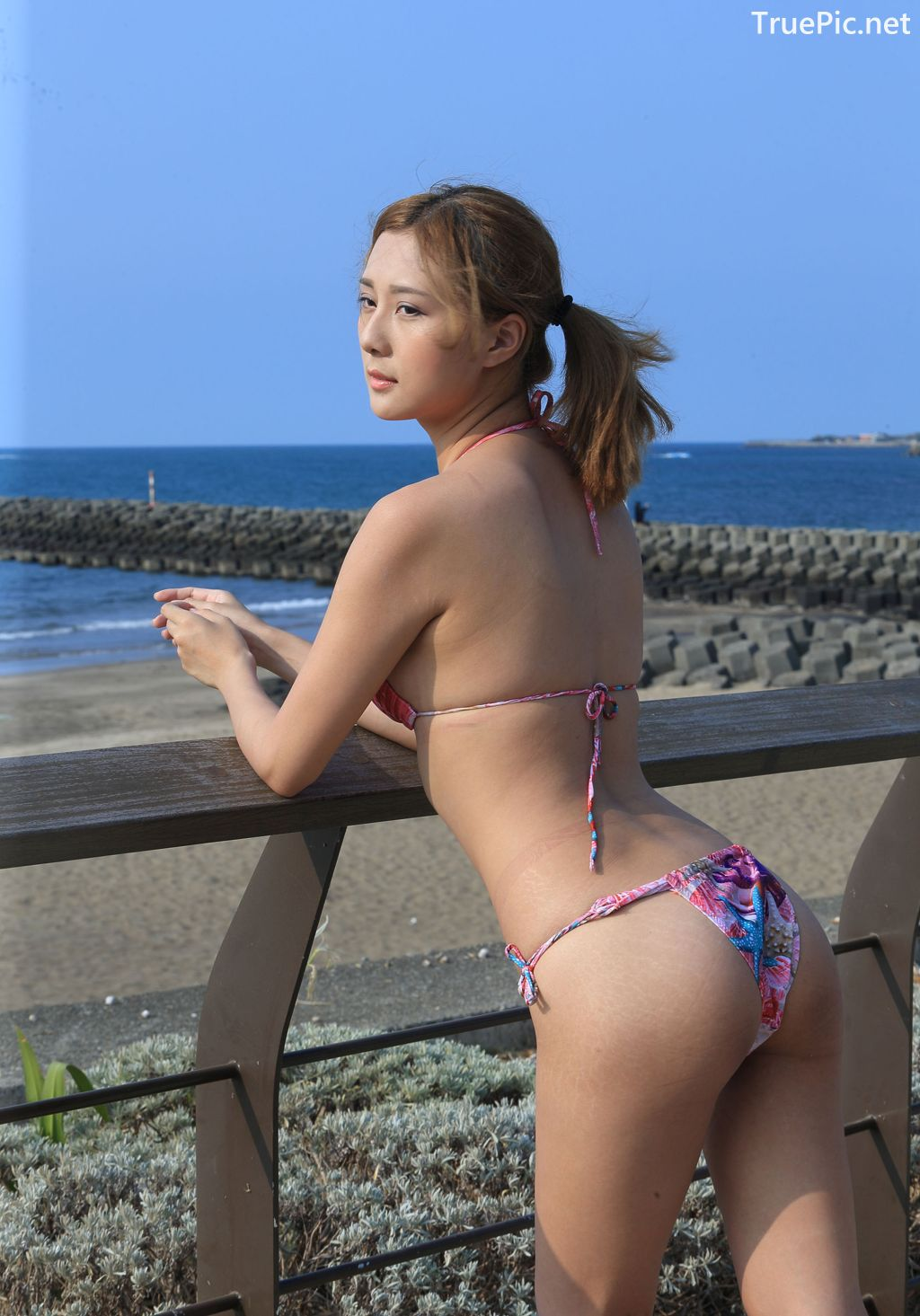 Image-Taiwanese-Model-陳郁晴-Young-And-Lovely-Bikini-Girl-TruePic.net- Picture-7
