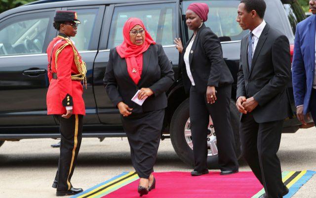 Tanzania's President Samia Suluhu Hassan photo