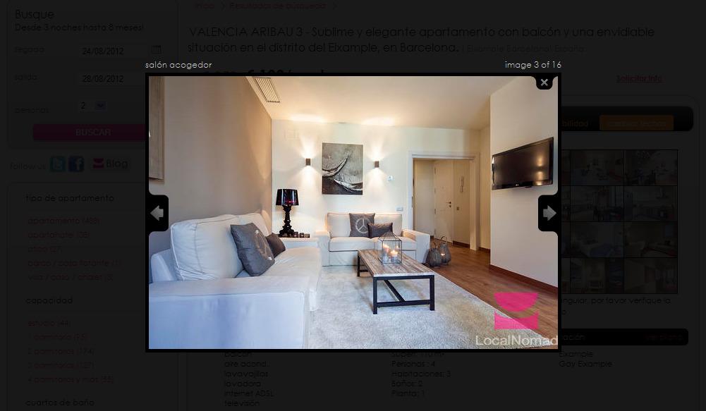 Wohnung Eigenschaften: Anzahl Der Zimmer: 2. Fläche: 62 M². Komfort: Luxus  Stockwerk: 2. Anzahl Der Schlafzimmer: 1. Anzahl Küchen: 1