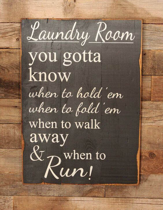 You gotta know when to RUN!