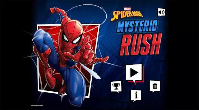Spider Man Mysterio Rush adalah salah satu game yang paling saya sukai