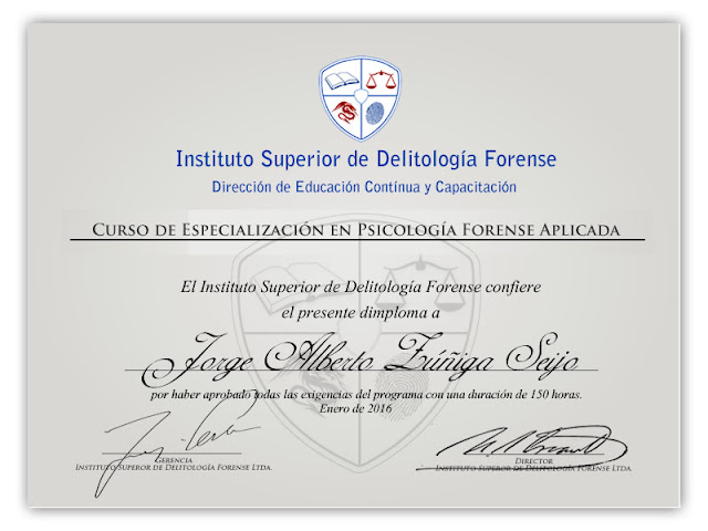 psicología forense especialización