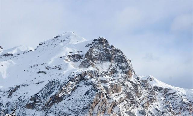 Sur les cimes des montagnes