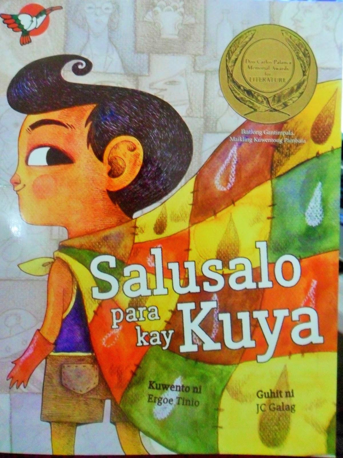 Book Review Salusalo Para Kay Kuya By Ergoe Tinio