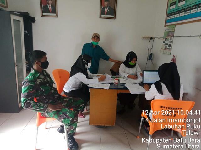 Dengan Cara Komsos Personel Jajaran Kodim 0208/Asahan Mengetahui Kondisi Wilayah Desa Binaan