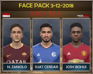 PES 2017 Facepack 3-12-2018 by Mo Ha