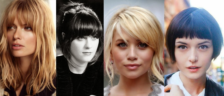 zooey deschanel bangs fringes hair