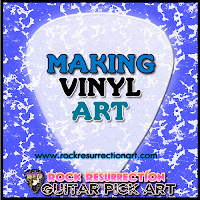 Making Vinyl Art