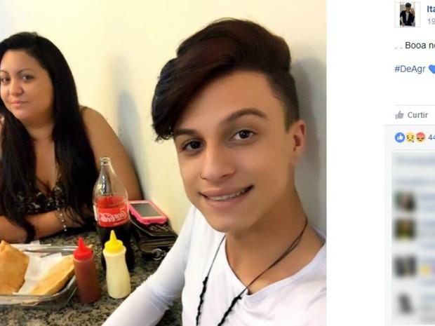 """A gerente de supermercado Tatiana Ferreira Lozano Pereira, de 32 anos, presa na última semana em Cravinhos, interior de São Paulo, após confessar ter matado o filho Itaberli Lozano, de 17 anos, e queimado seu corpo, disse em depoimento que """"não aguentava mais ele"""". O crime ocorreu na casa onde ambos moravam em 29 de dezembro. No primeiro depoimento, ela disse que teve uma forte discussão com Itaberli, que culminou em confronto físico. Num primeiro momento, ela diz ter aplicado uma """"chave de braço"""" no jovem, que se desvencilhou. Em seguida, diz que pegou uma faca e a colocou atrás da porta do quarto do filho, pois """"presumiu que ele poderia matá-la"""""""