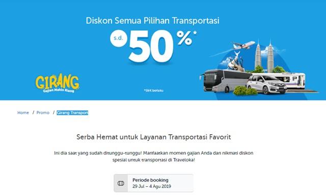 Promo Traveloka Rental Mobil 2019 - Traveloka.com