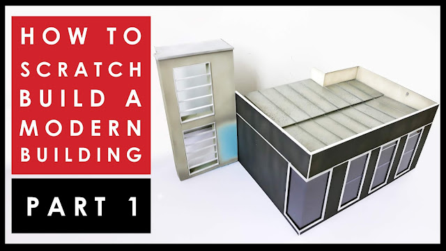 video tutorial how to scratch build a scale model house