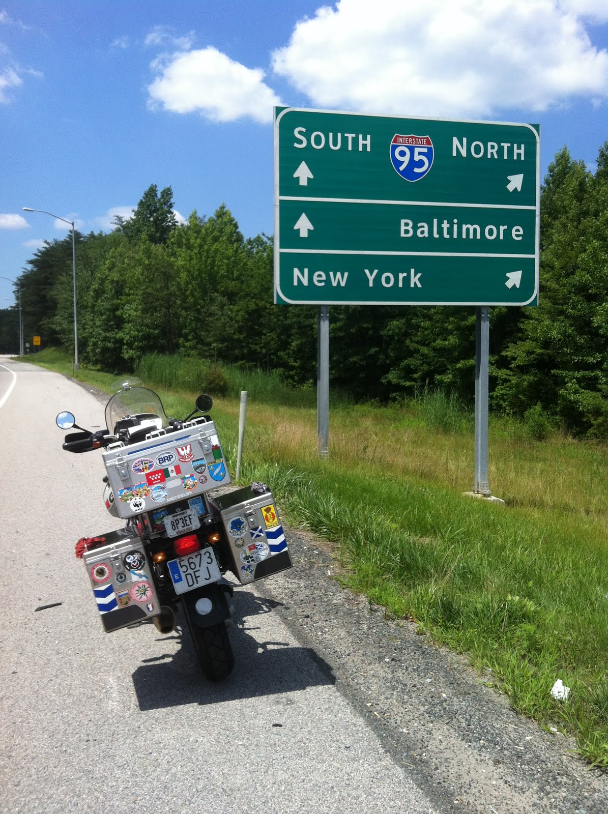 NEW YORK 2015; 9840 kms