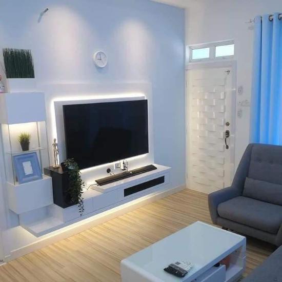Warna cat rumah minimalis modern yang memberi kesan sejuk