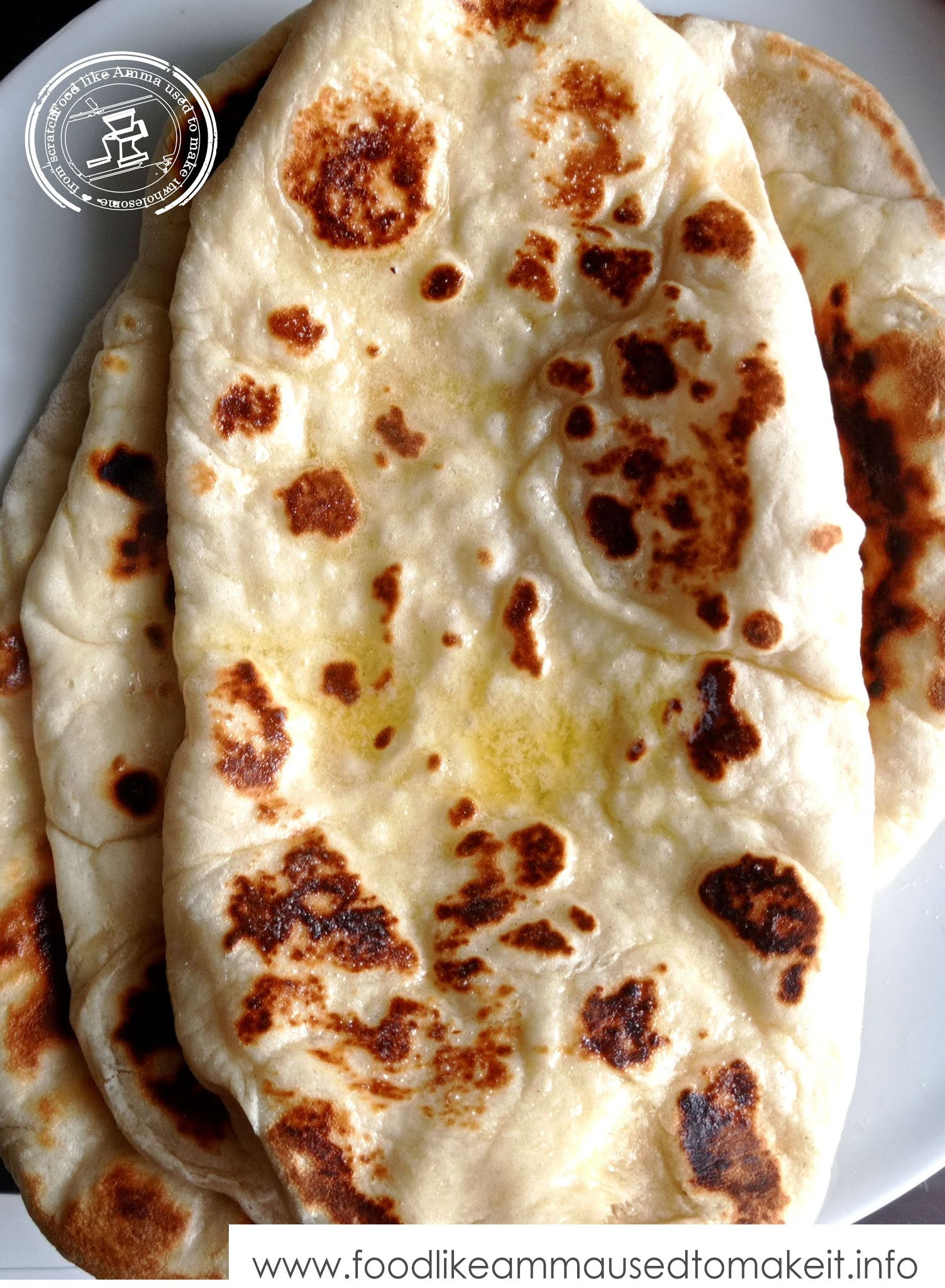 easy naan bread at home