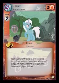 My Little Pony Trixie, Rock Farmer Equestrian Odysseys CCG Card