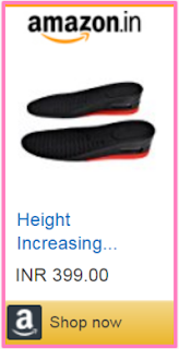 Height Increasing Shoes Insoles
