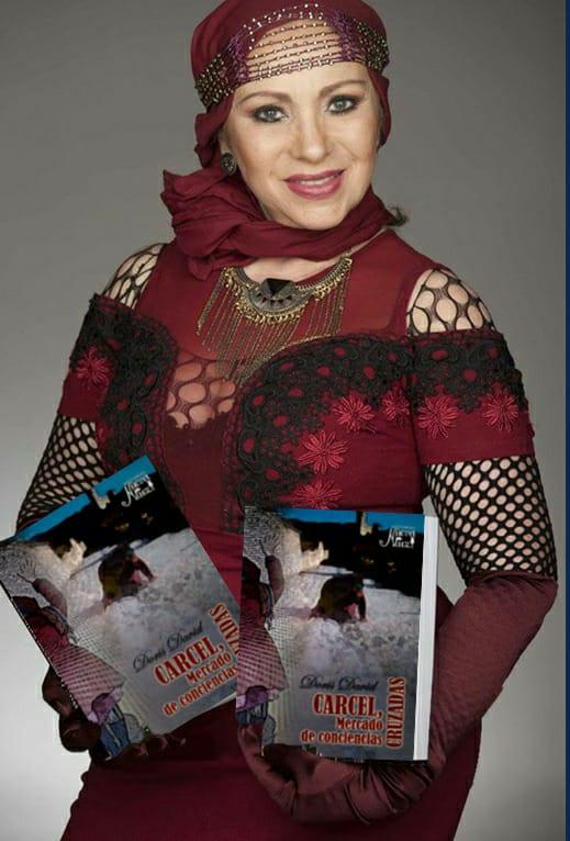 Doris-David,-Vedette-colombiana-lanzamientos-mundial-tercer-libros