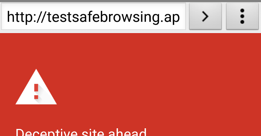 Android Developers Blog: Protecting WebView with Safe Browsing