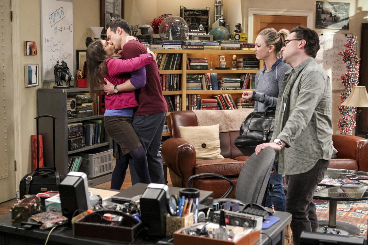 Cuando Amy y Sheldon tienen más pasión que tu matrimonio