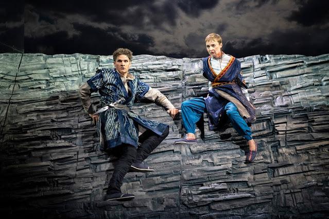 Handel: Radamisto - William Towers, Katie Bray - English Touring Opera, 2018 (Photo Richard Hubert Smith)