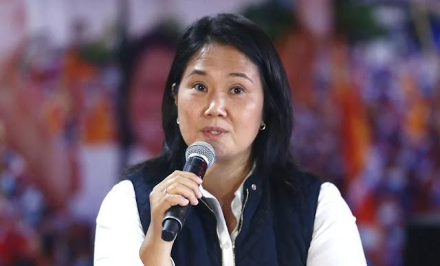 Keiko fujimori pide anular al menos 200 mil votos