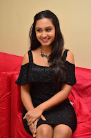 South Actress Amulya in short black dress at Kalamandir Foundation 7th anniversary Celebrations ~  Actress Galleries 054.JPG