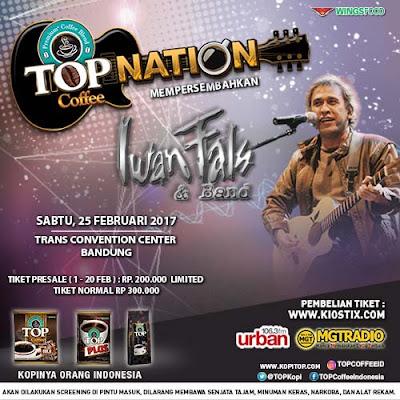 Konser Iwan Fals Top Nation Bandung