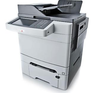 Lexmark X548dte Printer driver
