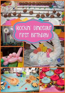 Throw a Fabulous Rockin' Dinosaur First Birthday Party