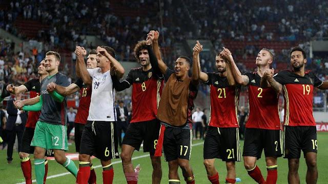 Belgia Lolos ke Putaran Final Piala Dunia 2018